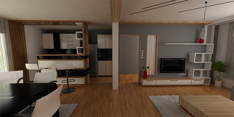 3d Visualisierung Interior