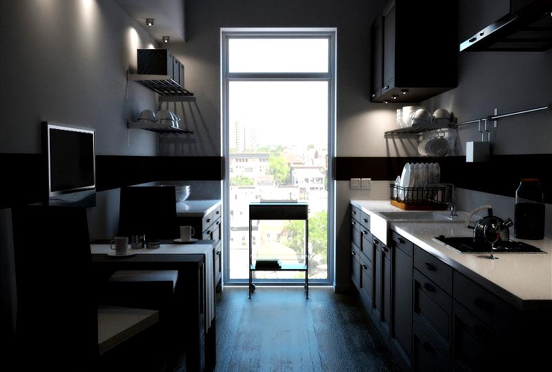 3d-Küchenvisualisierung