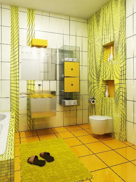 3d Badezimmer visualisierung