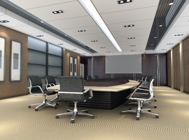 3d visualisierung Büro und Konferenzraum