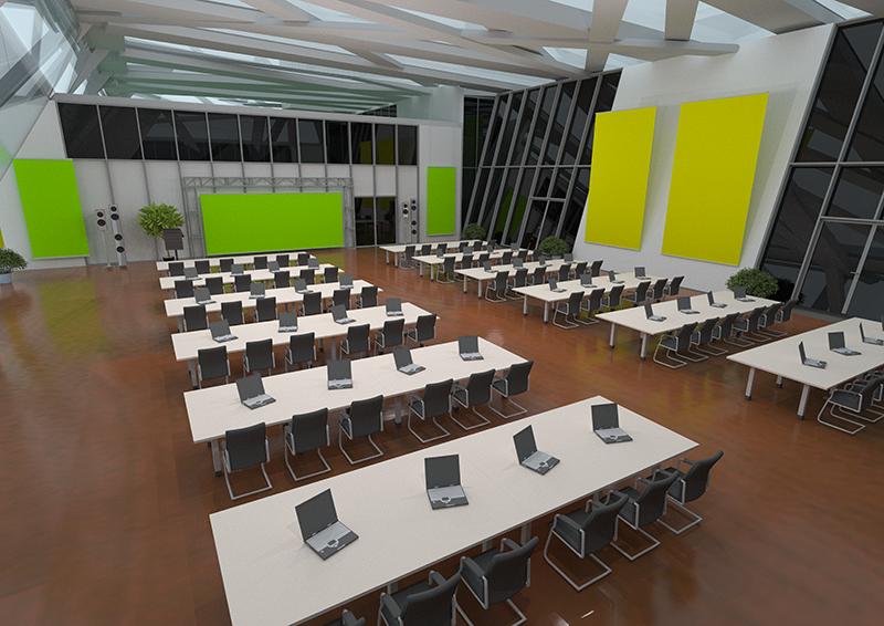 virtuelle Messe 3D Visualisierung