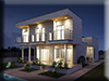 3d Visualisierung Haus Architektur