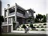 3d Visualisierung Wohnhaus Tageslichtstudie