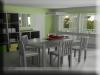 3d Visualisierung Esszimmer
