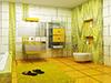 3d visualisierung Penthouse Badezimmer