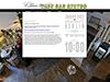 flashbasierte Internetseite für ein Cafe in berlin
