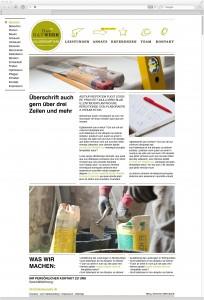 Internetseite Dasbauwerk.de - Fucon GmbH