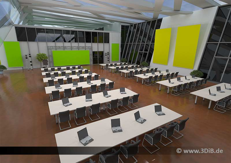 3D Konferenzsaal