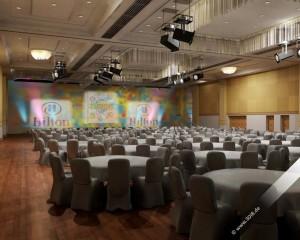 Veranstaltungsvisualisierung Hilton Fusion 2011