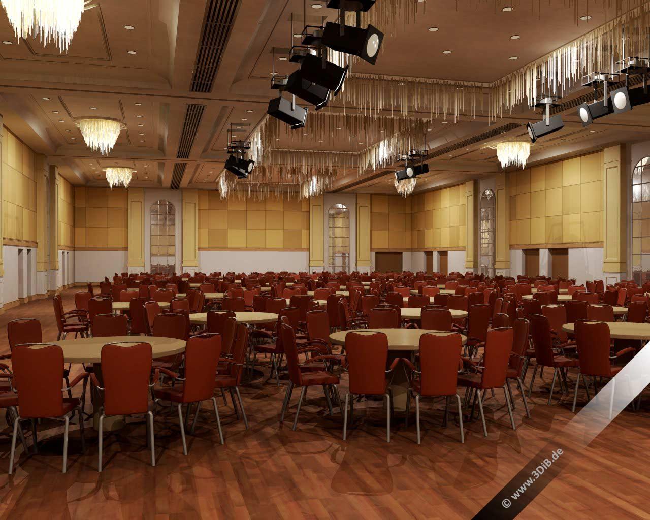 Eventvisualisierung-Hilton-tageslichtsituation-konferenzsaal