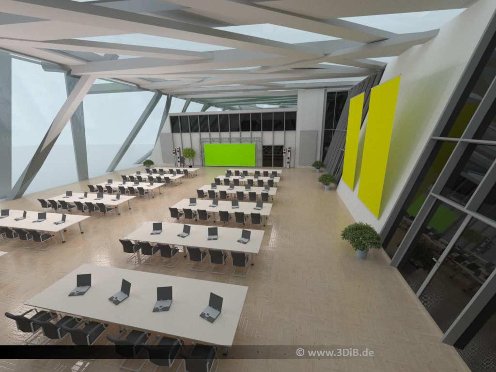 virtueller Konferenzsaal