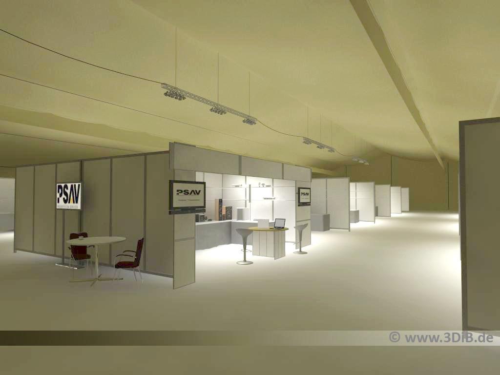 Messebau-3D-Visualisierung