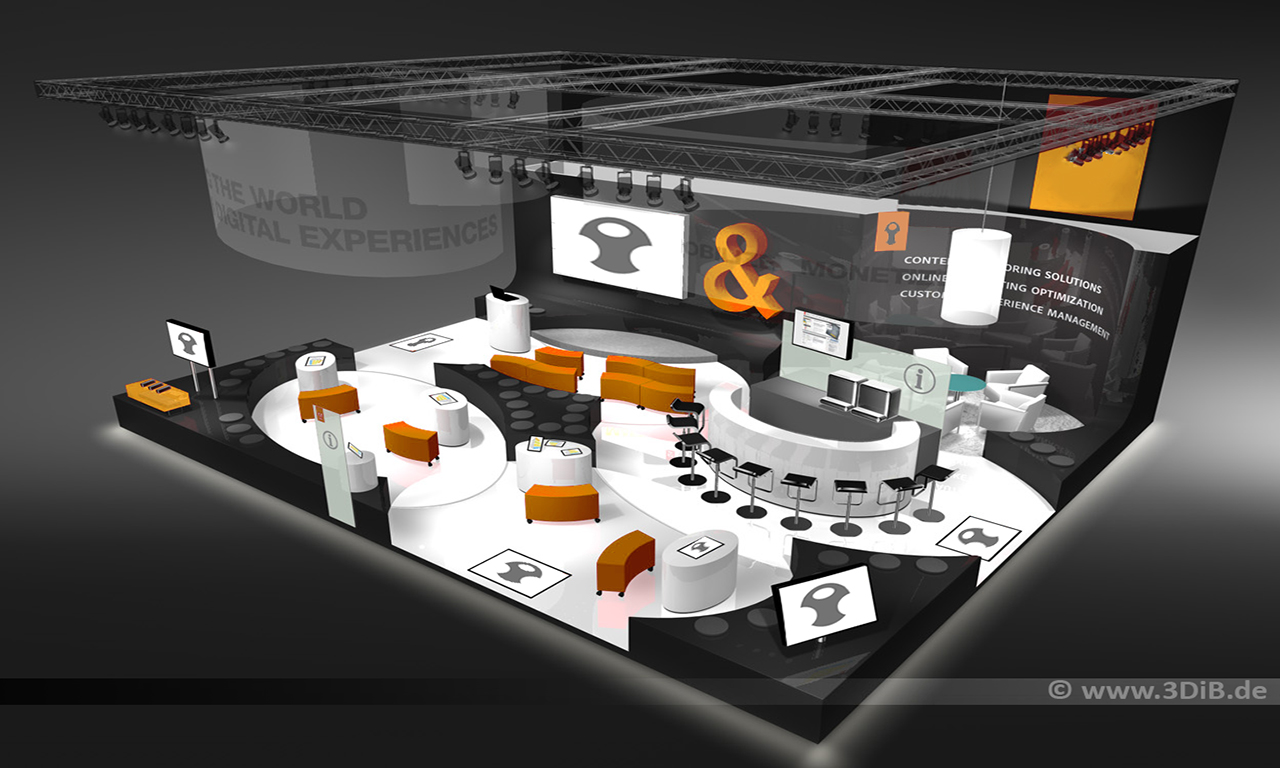 Messestand-3D-Visualisierung