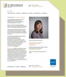 Internetseite von Frau Dr.Scheinert