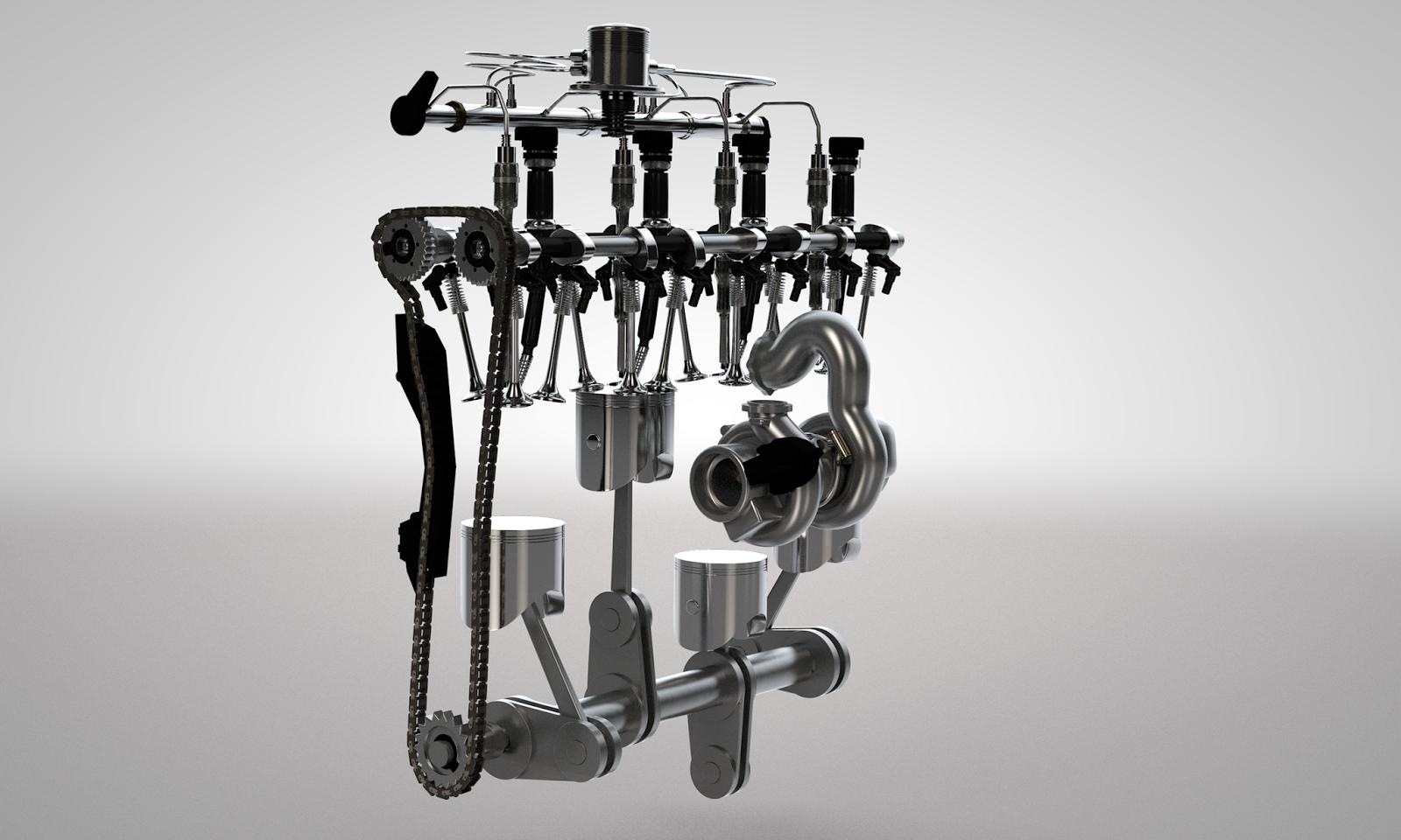 3D-Visualisierung-Motor