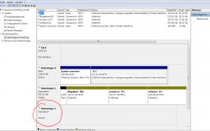 SATA HDD Fremder Datenräger